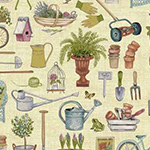 Antique Garden - Scatter in Multi
