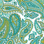Monsoon - Paisley in Turquoise