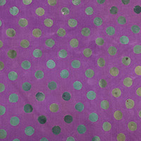 Handcrafted Patchwork - Dot in Hydrangea