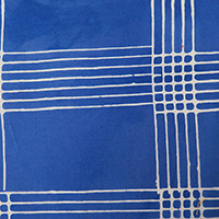 Alison Glass - Chroma - Plaid in Cobalt