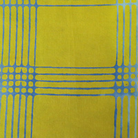 Alison Glass - Chroma - Plaid in Citrus