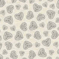 Scandi 4 - Hearts in Silver