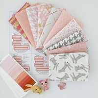 Creamsicle Bunnies - 10 Fat Quarter Bundle