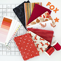 Fox Fancy - 8 Fat Quarter Bundle