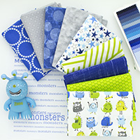 Monster Mash - 9 Fat Quarter Bundle