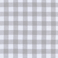 Checkers - Half Inch Gingham in Linen