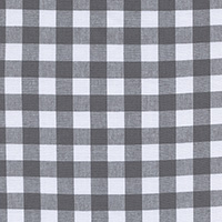 Checkers - Half Inch Gingham in Chalkboard