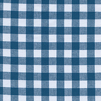 Checkers - Half Inch Gingham in Teal