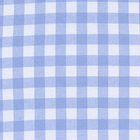 Checkers - Half Inch Gingham in Sky