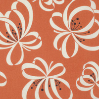 Katie Jump Rope - Ribbon Floral in Orange