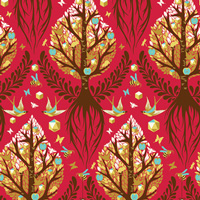 Tula Pink Timeless - Tree of Life in Cinnamon