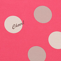 Lighthearted - Big Dot in Hot Pink