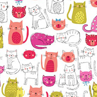 Kitty - Cats in Pink