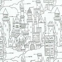 Magic - Castle Plans in White