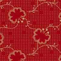 Signature Patriot - Spot Flowers in Red