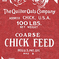Fowl Play - Chick Feed in Red