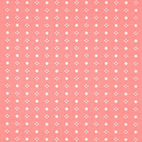 One Room Schoolhouse - Chalk Dots in Blush