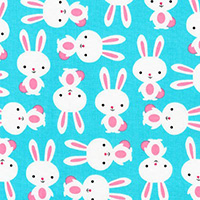 Urban Zoologie - Bunnies in Aqua