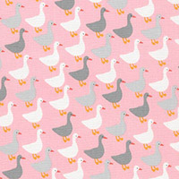 Urban Zoologie Mini - Geese in Pink