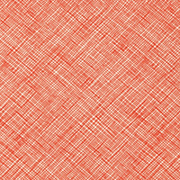 Architextures - Crosshatch in Tangerine
