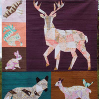 Violet Craft - Forest Abstractions Quilt Pattern