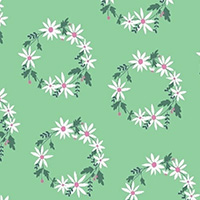 Daisy Chain - Flower Crown in Mint