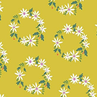 Daisy Chain - Flower Crown in Chartreuse