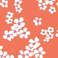 Daisy Chain - Bouquet in Coral