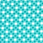 Dim Dots in Turquoise