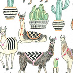 Lovely Llamas - Lovely Llamas in White