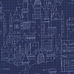 Magic - Castle Plans in Navy