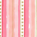 Magic - Stars and Stripes in Pink Metallic