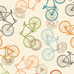 Bicycles in Cream