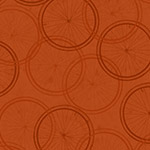 Bicycle Wheels in Dark Terracotta