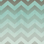 Chevrons in Teal