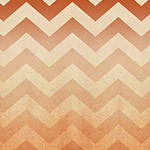 Chevrons in Terracotta