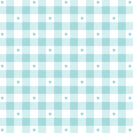 Sorbets - Gingham in Aqua