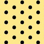 Anapola - Black Dots on Yellow