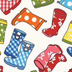 Puddle Jumpers - Rain Boots in Multi