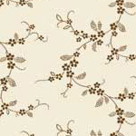 Lucy's Collection - Tiny Flower Chains in Brown