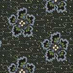 Lucy's Collection - Flowers in Dark Green