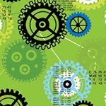 iBot - Gears and Sprockets in Green