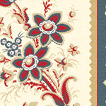 American Beauty - Border Print in Multi