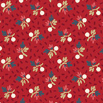 American Beauty - Small Floral in Red