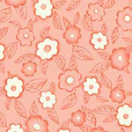 Frakturs and Flourishes - Floral in Coral
