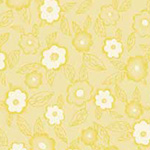 Frakturs and Flourishes - Floral in Yellow