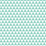 Riley Blake Designs - Boy Triangles in Aqua