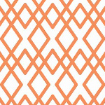 Lula Lattice Orange