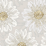 Shiny Objects, Good as Gold - Embossed Blooms in Pearl