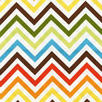 Remix - Zig Zag Stripe in Bermuda
